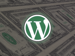 wordpress can give you money
